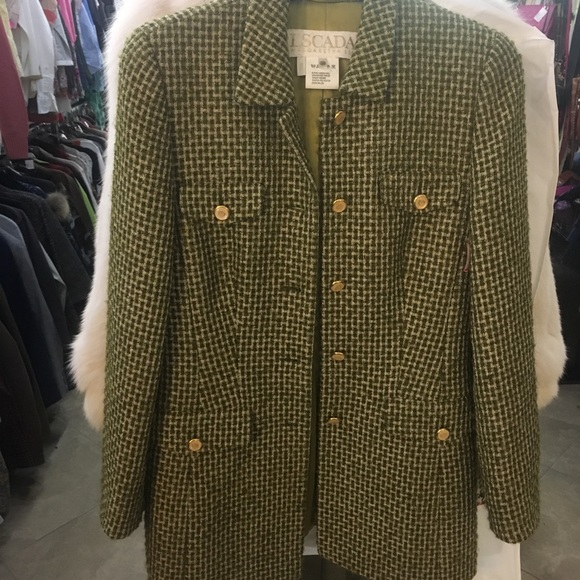 Escada Jackets & Blazers - Escada tweed jacket